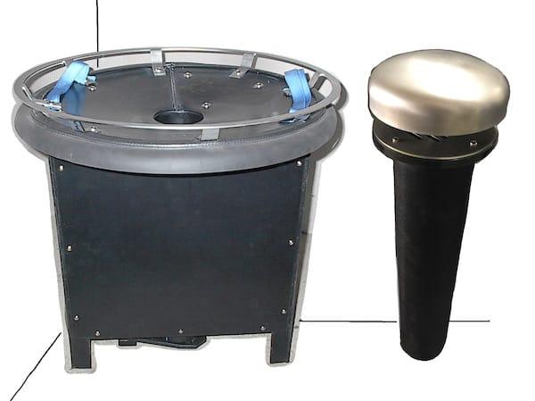 Bioteg Biofilter Small Passive Biofilters